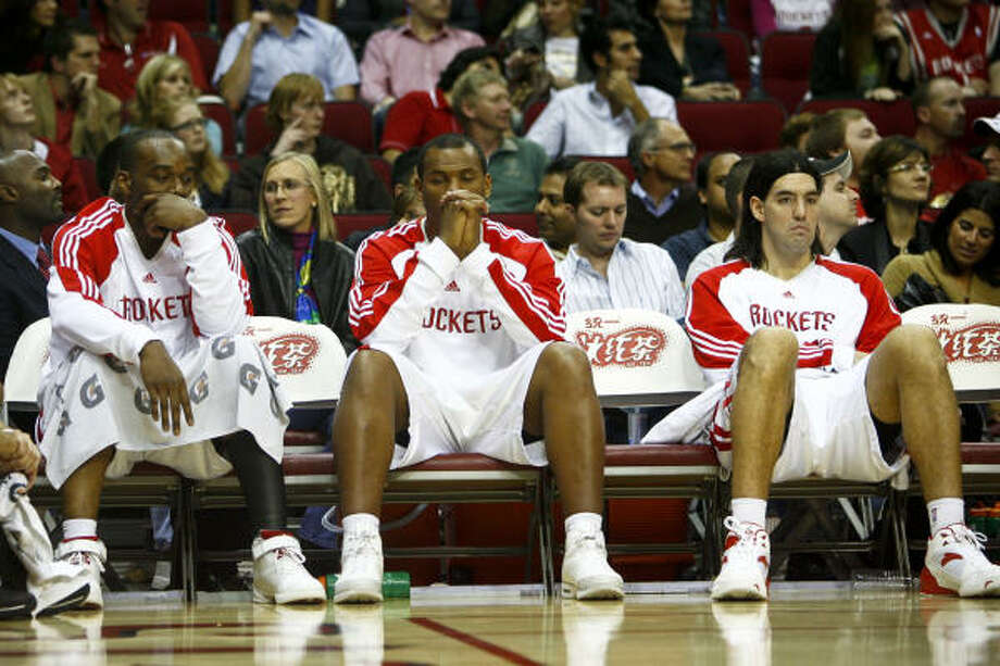 Coming off a 130-99 home loss to the Mavericks, the Rockets were embarrassed and humbled. Photo: Michael Paulsen, Chronicle