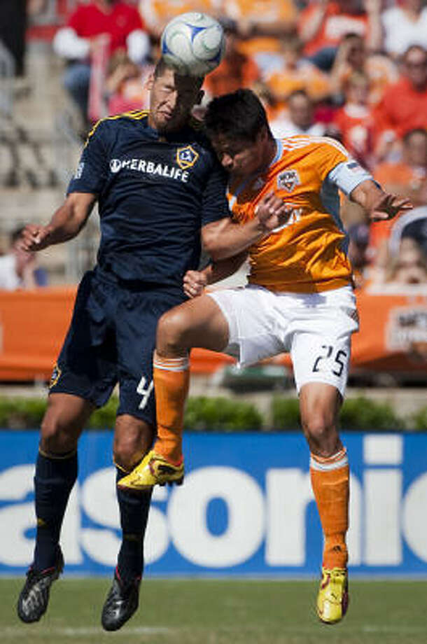 With a win over Galaxy on Friday, the Dynamo will head to Seattle for the Nov. 22 title game. Photo: Smiley N. Pool, Chronicle