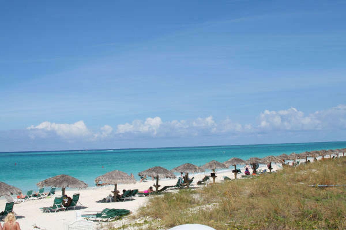 TURKS & CAICOS: Soft sand extends for a dozen miles along Grace Bay.