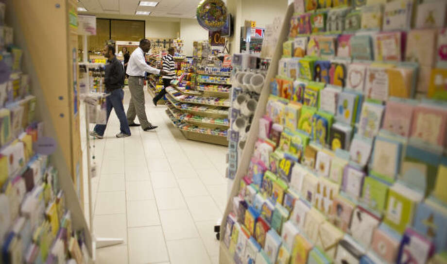 The best gifts you can find in a convenience storeThe good folks at Paradise Gifts under Houston's downtown Chase Building allowed us to search their store on Dec. 23 for the best last-minute holiday gifts you can find in most convenience stores. Here's our best picks. Photo: Nick De La Torre :, Chronicle