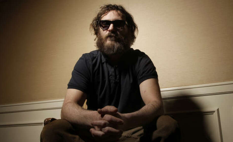 Actor Joaquin Phoenix poses for a portrait in Beverly Hills, Calif., on Tuesday, Feb. 3. Photo: Matt Sayles, AP