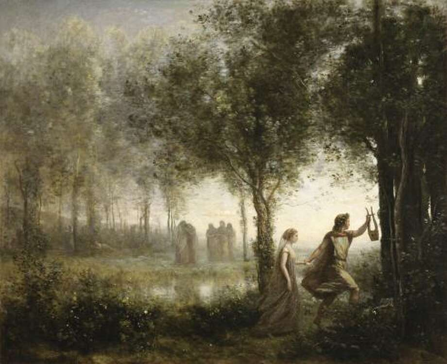 The Jean Baptiste Camille Corot painting Orpheus Leading Eurydice from the Underworld is in the Museum of Fine Arts, Houston's permanent collection. Photo: MUSEUM OF FINE ARTS, HOUSTON