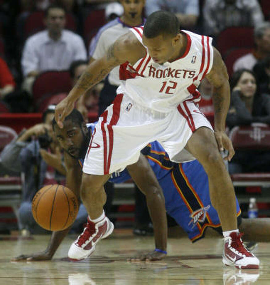 Will Conroy is among the Rockets players whose fate for the upcoming season is uncertain. Photo: Karen Warren, Chronicle