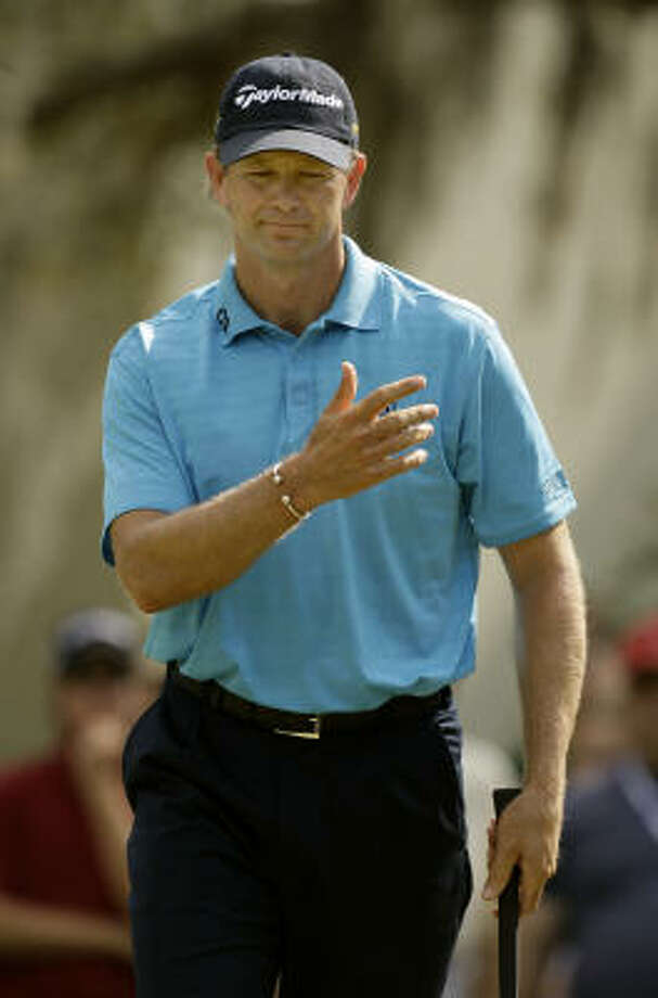 Retief Goosen turned a one-shot deficit into a one-shot win at the Transitions Championship. Photo: Chris O'Meara, AP