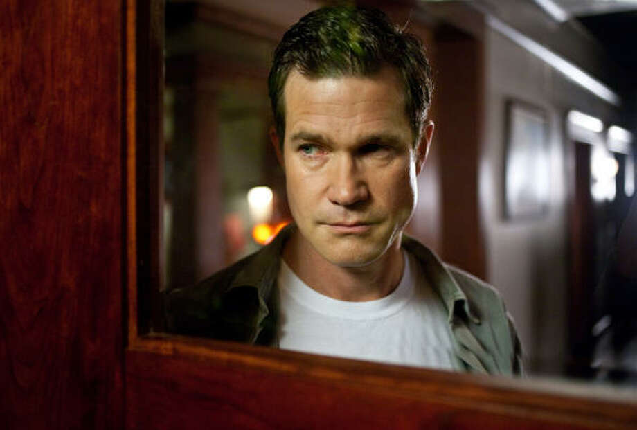 Dylan Walsh, from television's Nip/Tuck, portrays a man with murderous intentions in The Stepfather, a remake of a 1987 thriller of the same name. Photo: CHUCK ZLOTNICK :, SCREEN GEMS | MCT