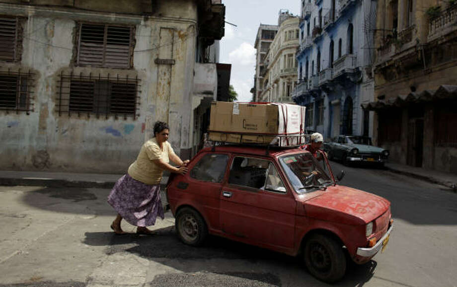 President Barack Obama's move could add to tourism in Havana (above). Photo: Javier Galeano, AP