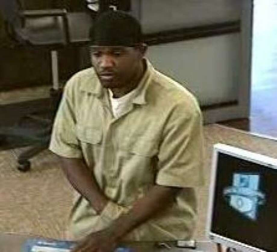 This was taken during the robbery on Long Point. Photo: FBI