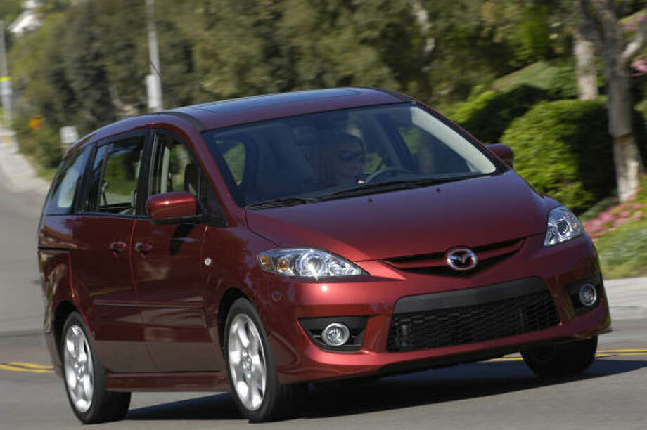 Base pricing for the 2009 Mazda5 ranges from $19,855 to $23,425. Photo: Guy Spangenberg