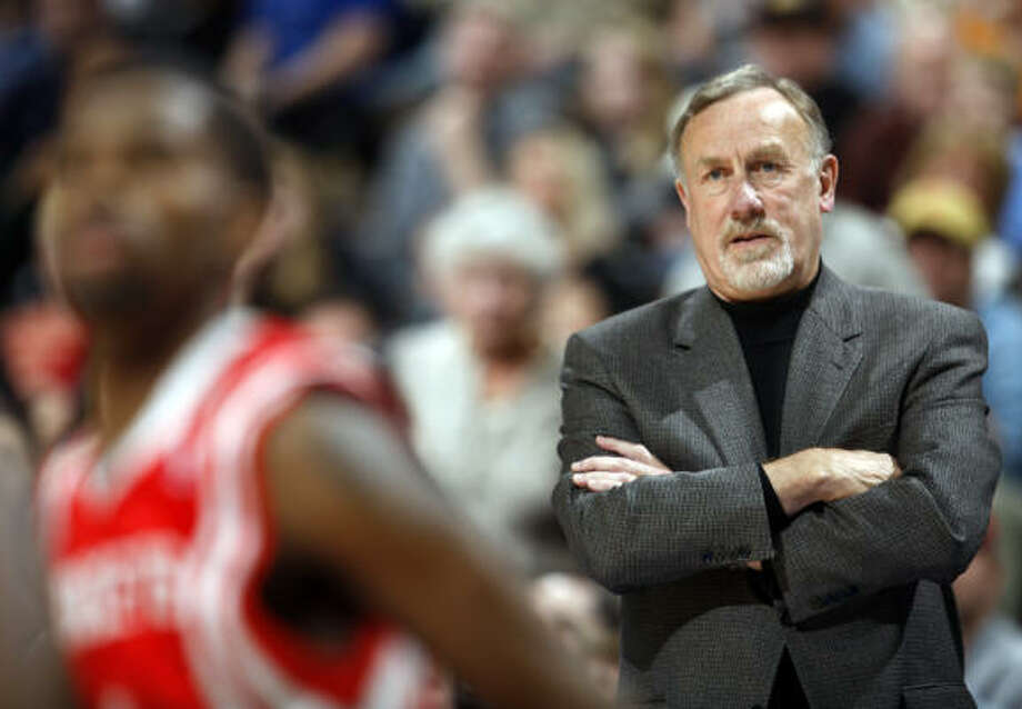 The Rockets begin training camp today and coach Rick Adelman will roll the ball out to start this season without guard Tracy McGrady and center Yao Ming. Photo: David Zalubowski, AP