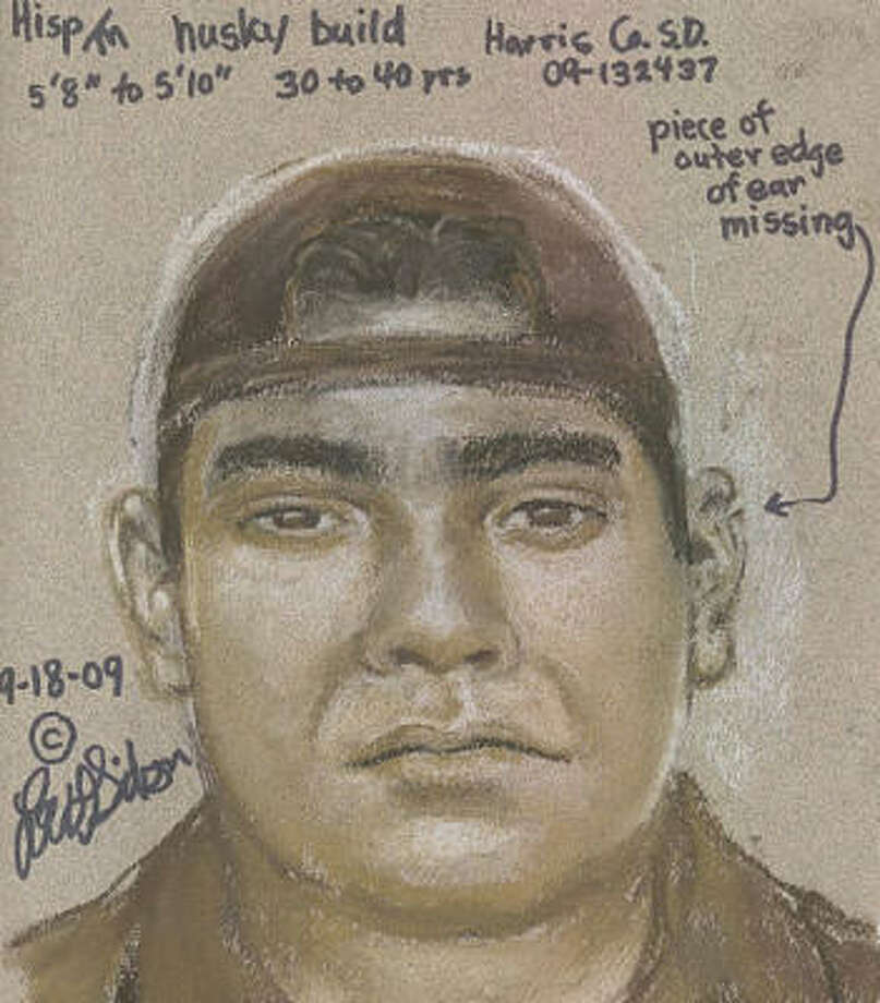 Authorities on Tuesday released this composite drawing of a man suspected of sexually assaulting a woman on Sept. 8 in Waller County. Photo: Crime Stoppers