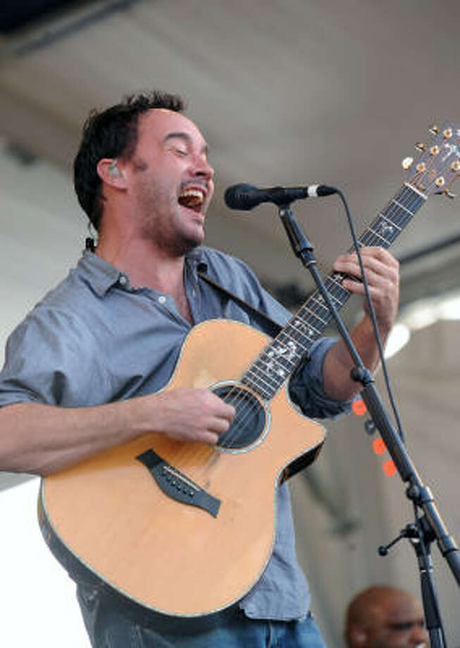 Fans of the Dave Matthews Band  can catch them in October at the Austin City Limits Music Festival. Photo: Rick Diamond, Getty Images