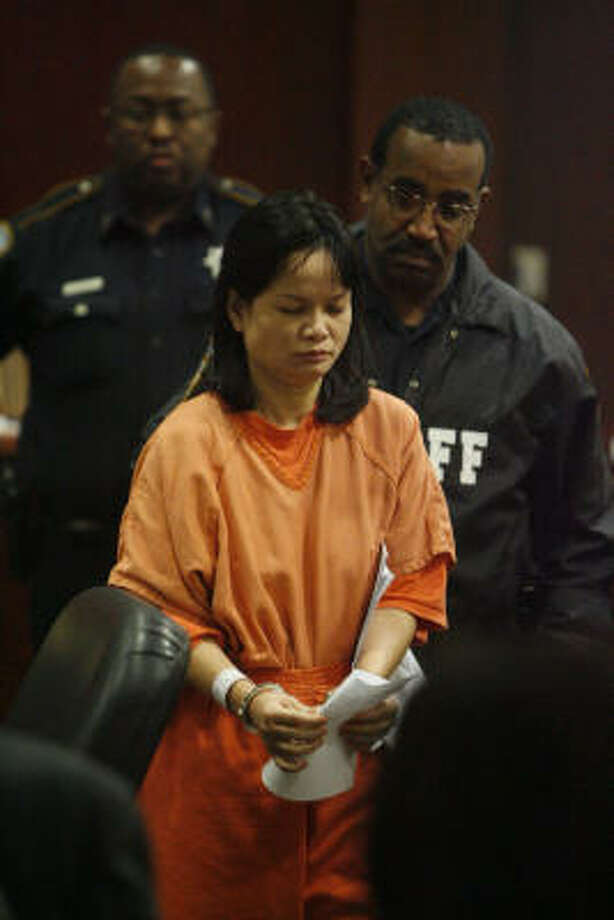 Phung Tran, the boy's mother, was implicated by his 6-year-old sister. Photo: Mayra Beltran, Chronicle