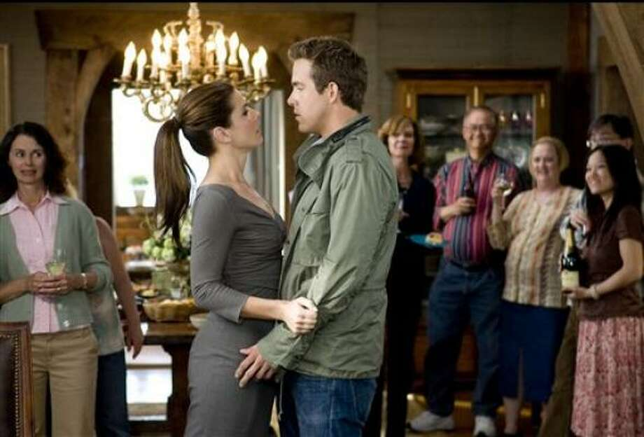 Sandra Bullock and Ryan Reynolds star in The Proposal. Photo: Kerry Hayes :, Touchstone Pictures