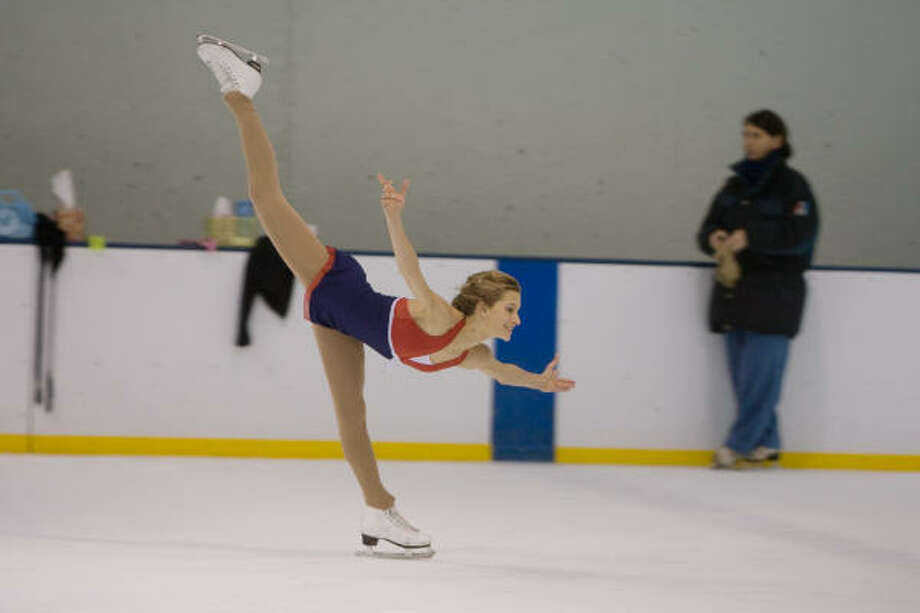 Becky Bereswill, seen in 2007, won the 2008 International Skating Union's Junior Grand Prix championship. Photo: R. Clayton McKee, For The Chronicle