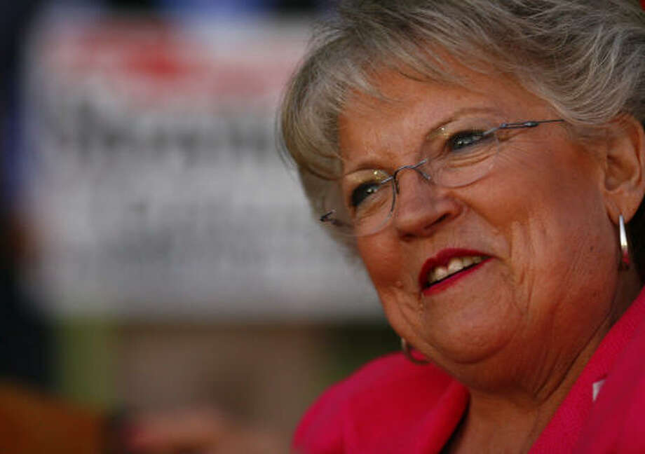 Carole Keeton Strayhorn lost a bid for governor in 2006. Photo: Steve Ueckert, Chronicle File