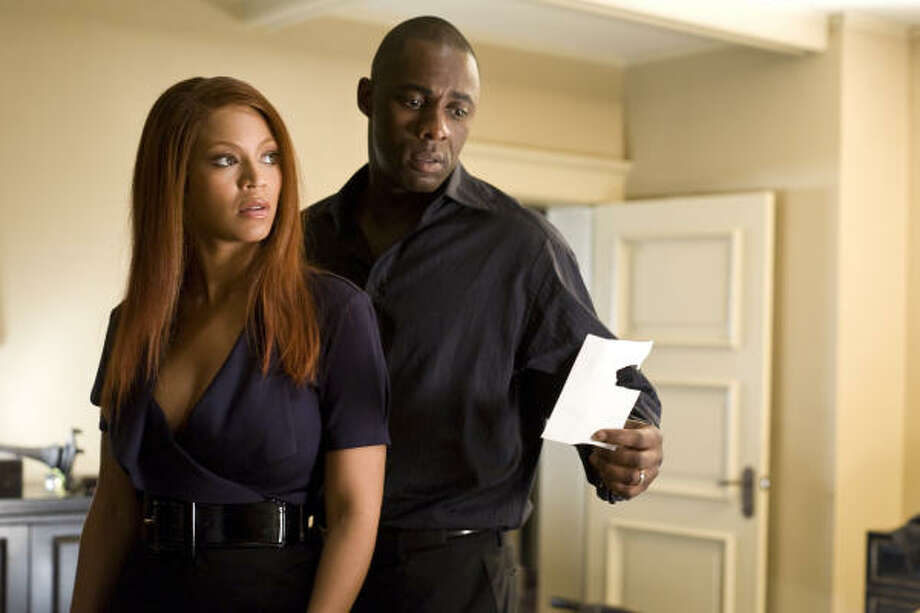 Beyoncé Knowles and Idris Elba star in Obsessed. Photo: Suzanne Tenner