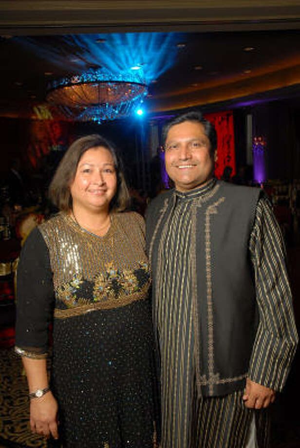 Pretti and Umesh Verma. Photo: Dave Rossman