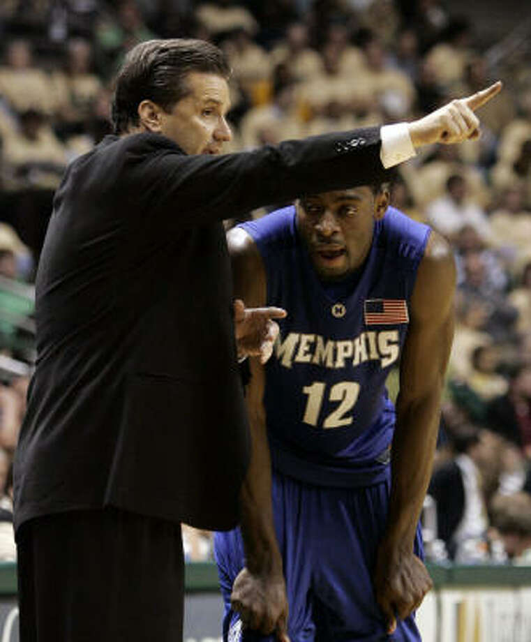 UH fans should be jealous of the powerhouse program that Memphis coach John Calipari has developed, Jerome Solomon writes. Photo: Butch Dill, AP