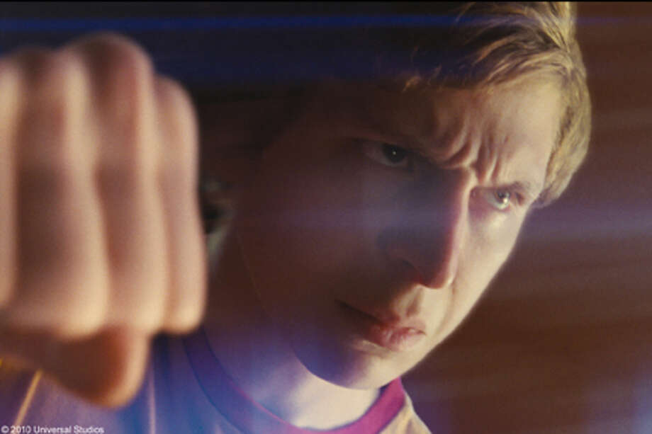 "Michael Cera as Scott Pilgrim in ""Scott Pilgrim vs. the World."" Photo: Photo Credit: Universal Pictures / Copyright: © 2010 Universal Studios. ALL RIGHTS RESERVED."