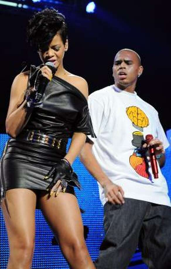 Rihanna and Brown were last minute absences at the Grammy Awards Sunday. Photo: Evan Agostini, Associated Press