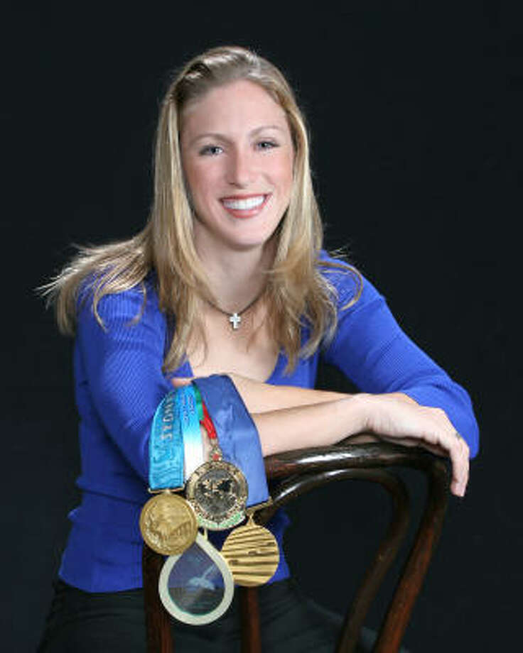 Olympic diving gold medalist and The Woodlands resident Laura Wilkinson. Photo: Laura Wilkinson