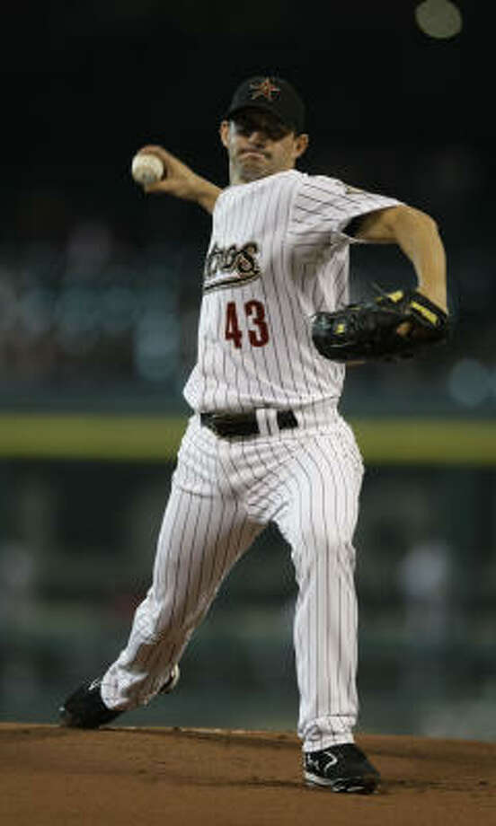 Chris Sampson signed a one-year deal with the Astros. Drew Sutton and J.R. Towles also agreed to one-year contracts. Photo: Karen Warren, Houston Chronicle