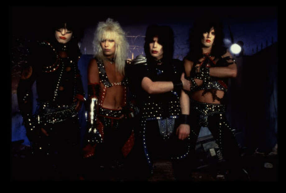 From left: Nikki Sixx, Vince Neil, Mick Mars and Tommy Lee