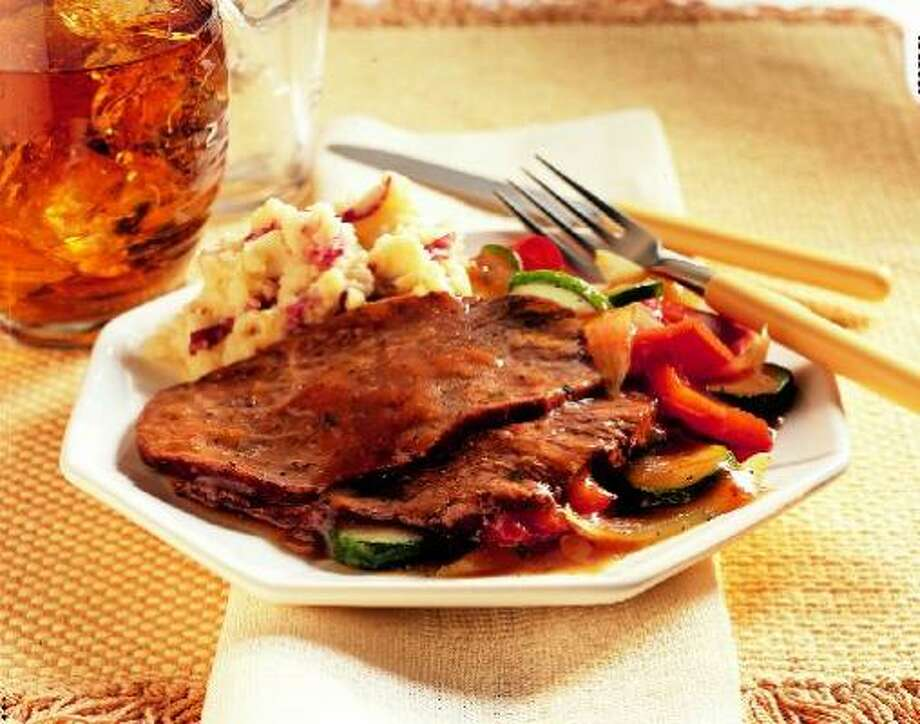 After-Work Beef Pot Roast Photo: Texas Beef Council