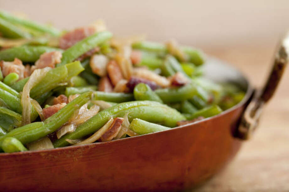 Bacon Braised Green Beans Photo: Steven Freeman :, HarperStudio