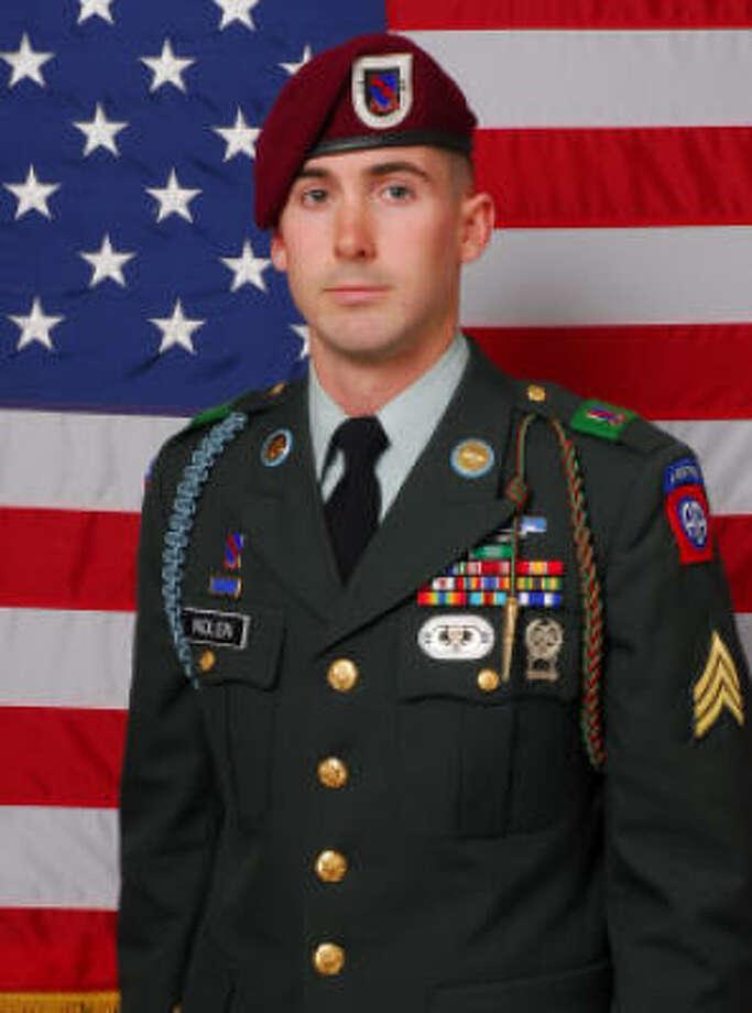 Sgt. James Michael Nolen, 25, was serving his second deployment to Afghanistan. Photo: Handout Photo