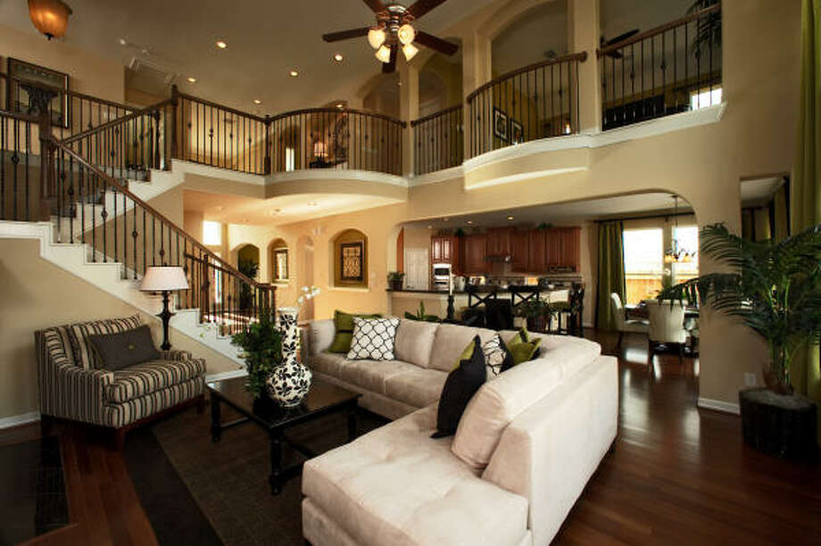 Laurel: Ashton Woods builds throughout the Houston area, with pricing from the $130,000s to more than $400,000. All homes, regardless of price, are built to Ashton Woods' energy-efficient standards. Ashton Woods is both an Environments for Living and Energy Star builder.