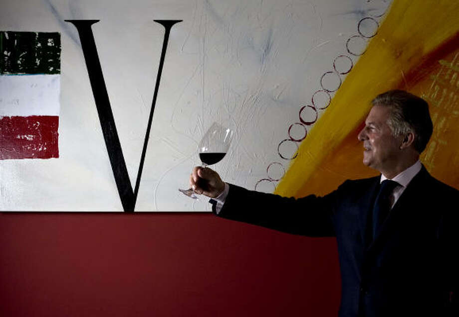 Piero Selvaggio's flagship restaurant Valentino in California has consistently been awarded the highest designation of Wine Spectator's three-tiered Award of Excellence. Photo: JAMES NIELSEN :, Chronicle