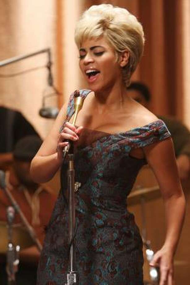 """Beyonce portrayed Etta James — and sang the 1941 song """"At Last,"""" written by Mack Gordon and Harry Warren — in the film """"Cadillac Records"""" last year. Photo: Eric Liebowitz"""