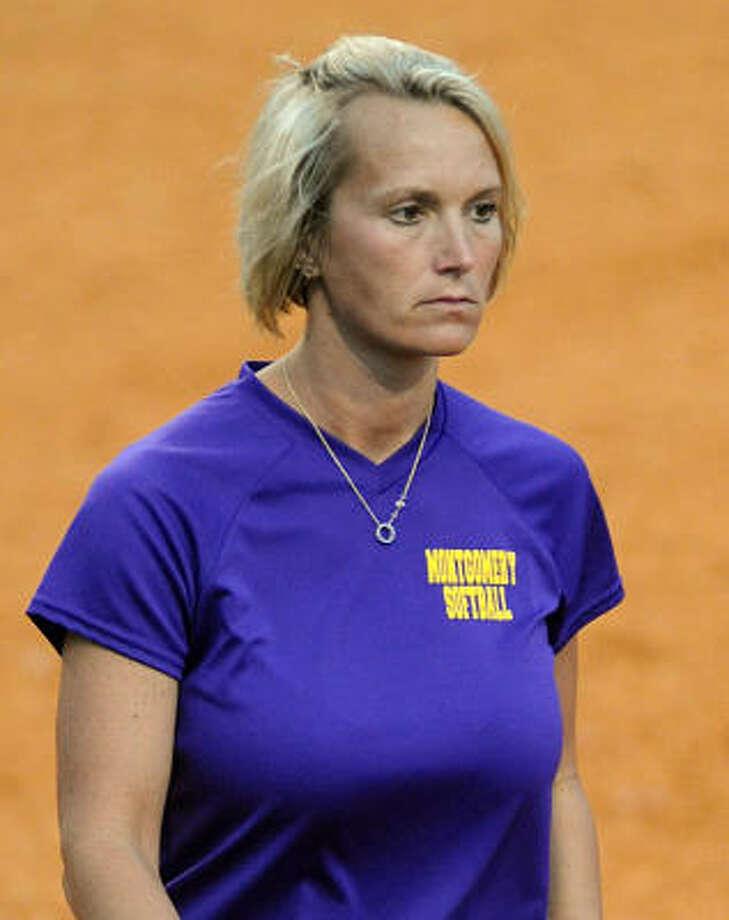 Montgomery softball coach Michelle Rochinski. Photo: David Hopper, For The Chronicle