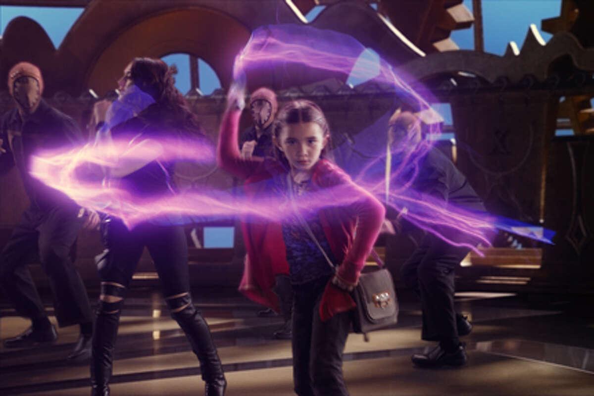 "Rowan Blanchard as Rebecca Wilson in ""Spy Kids: All the Time in the World in 4D."""