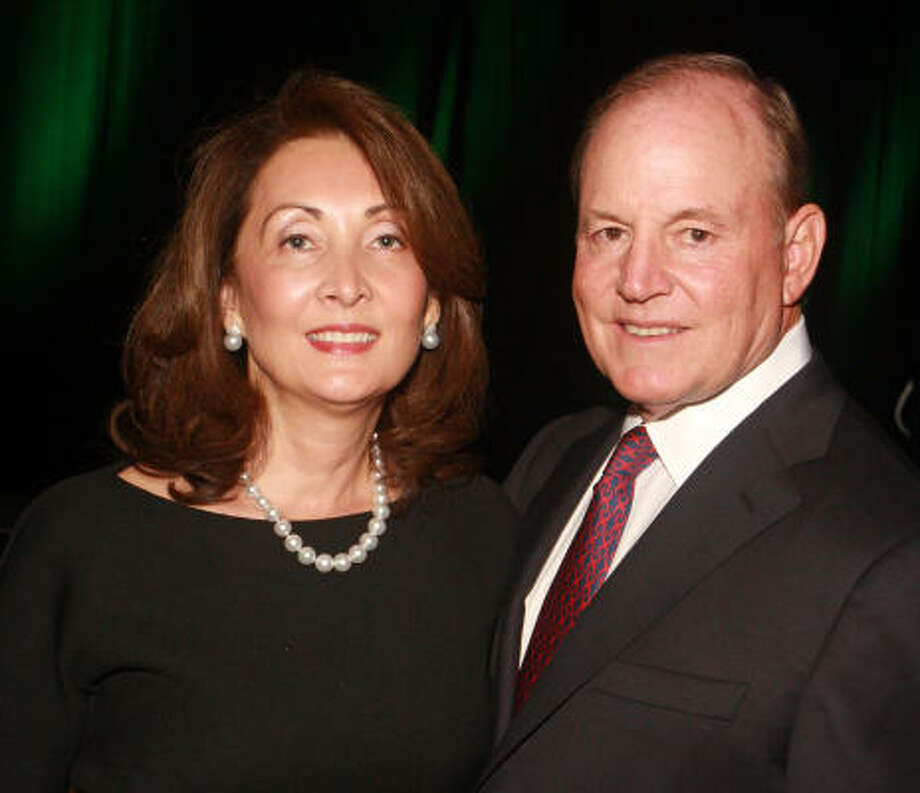 Honorees Penny and Paul Loyd Jr. at the Boys and Girls Country Heritage Award Dinner. Photo: Gary Fountain