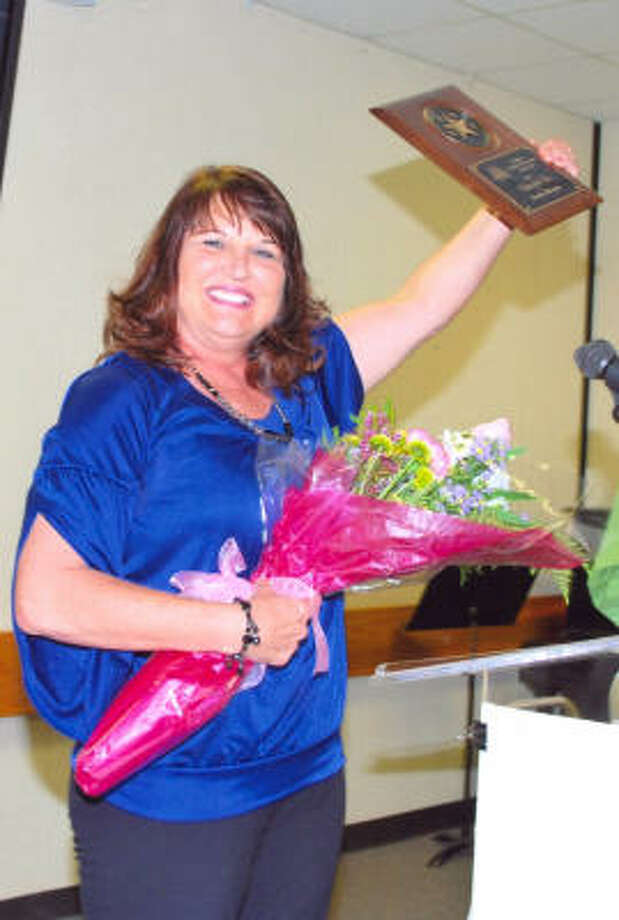 ALL SMILES: San Jacinto College dance and physical education professor Sandi Morgan was recently named Artist of the Year by the Pasadena Chamber of Commerce, Cultural Arts Council.