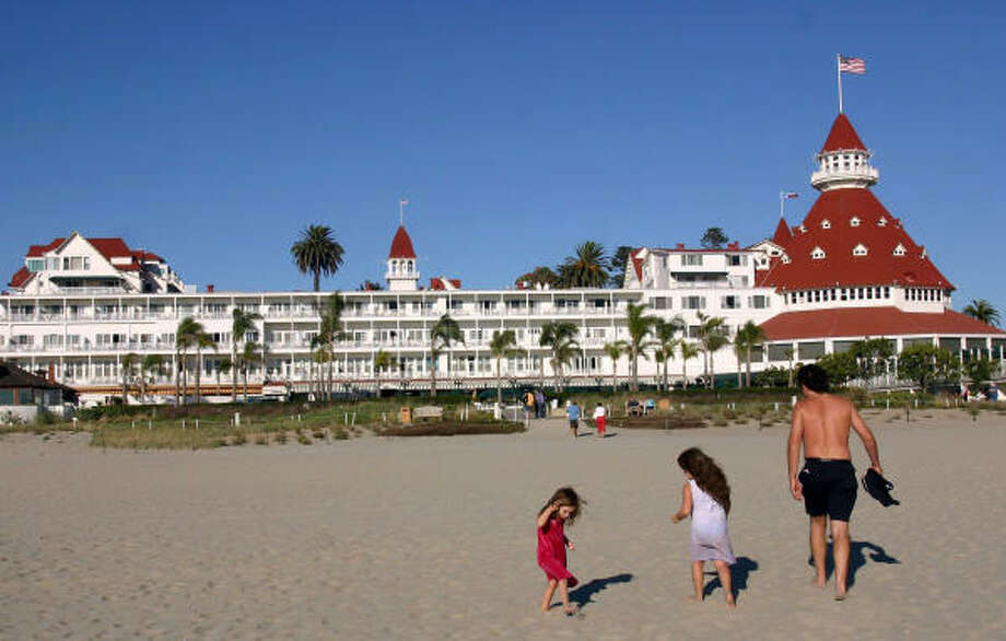 The Hotel del Coronado, built in 1888, is a Victorian masterpiece on the island of Coronado across from San Diego, Calif. Photo: Tom Uhlenbrock, MCT