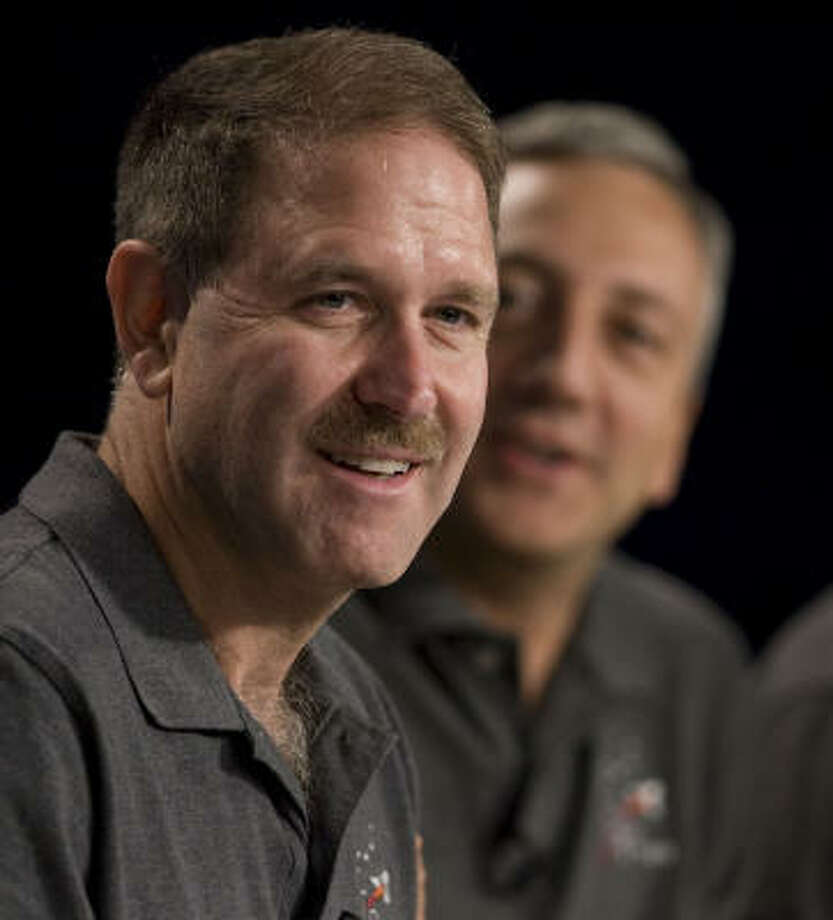 "Astronaut John Grunsfeld said he's ""thrilled"" to go on the mission. Photo: James Nielsen, Chronicle"