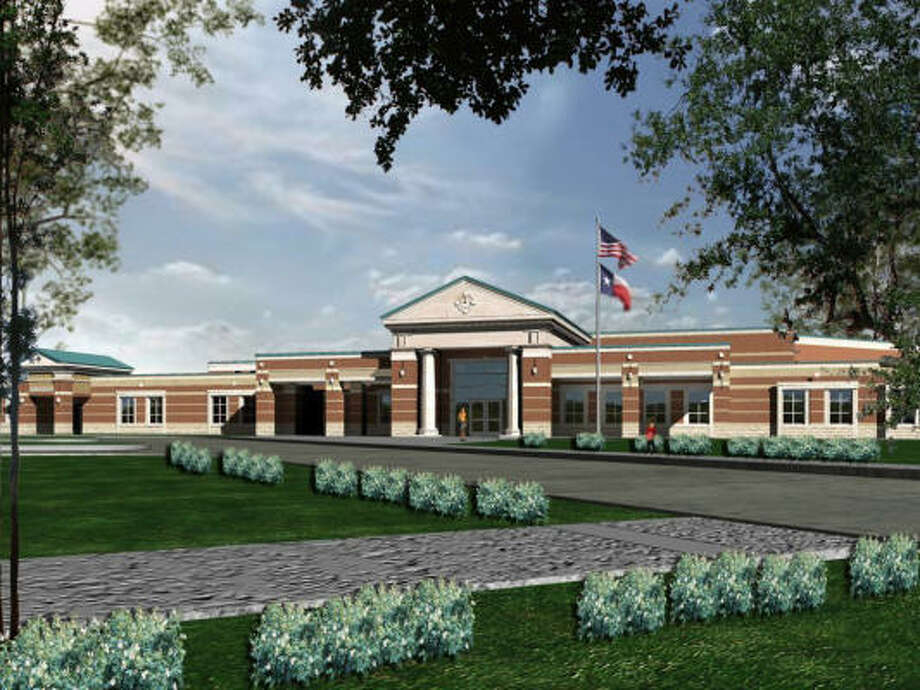Conroe Independent School district is opening Birnham Woods Elementary in The Falls at Imperial Oaks. Photo: PBK Architects