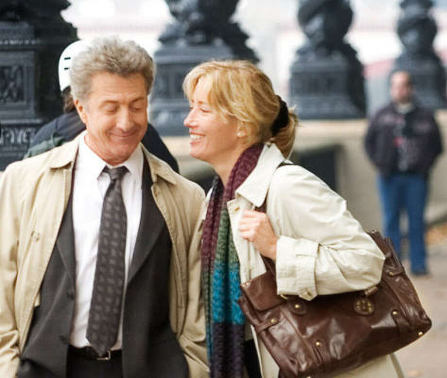 Academy Award winners Dustin Hoffman and Emma Thompson star in Last Chance Harvey. Photo: OVERTURE FILMS