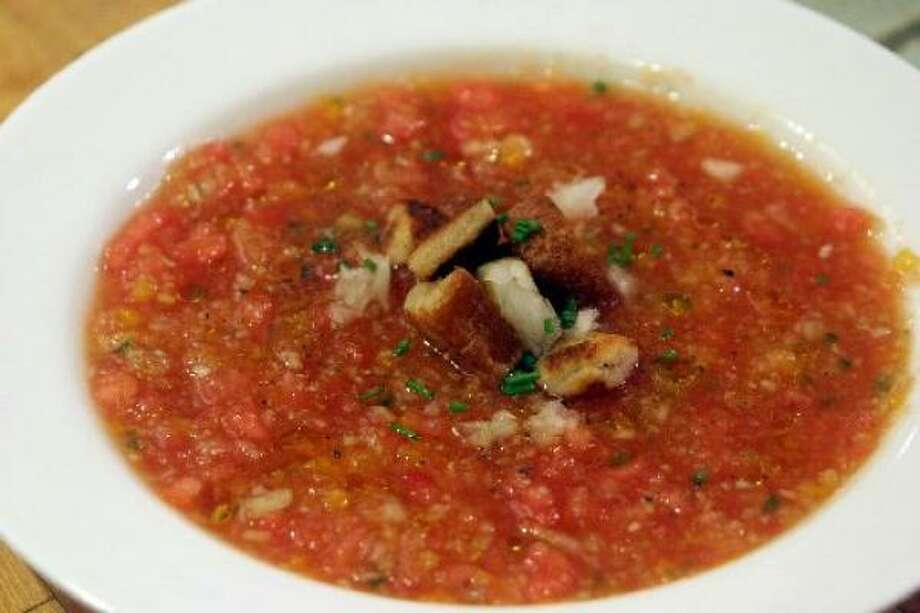 Tomato soup might protect your blood vessels. Photo: HOWARD RUMBERG, Associated PRess