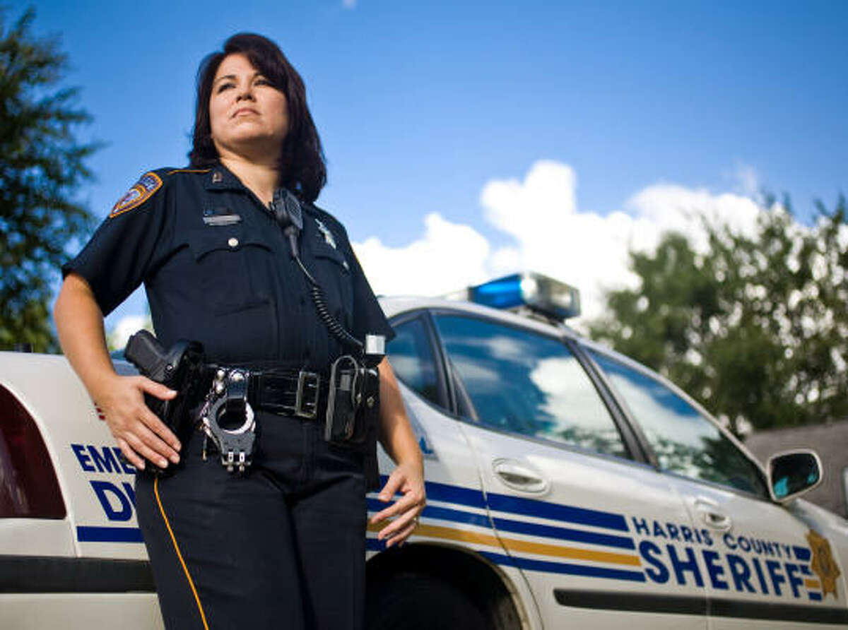 Terry Garza returned to her old job as a Harris County deputy after two years at CPS. While there, she quickly solved a problem that had stumped caseworkers for nine months.
