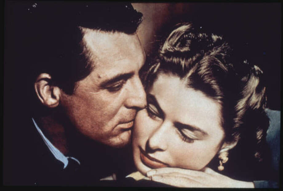 Cary Grant and Ingrid Bergman in Notorious. Photo: RKO Radio Pictures