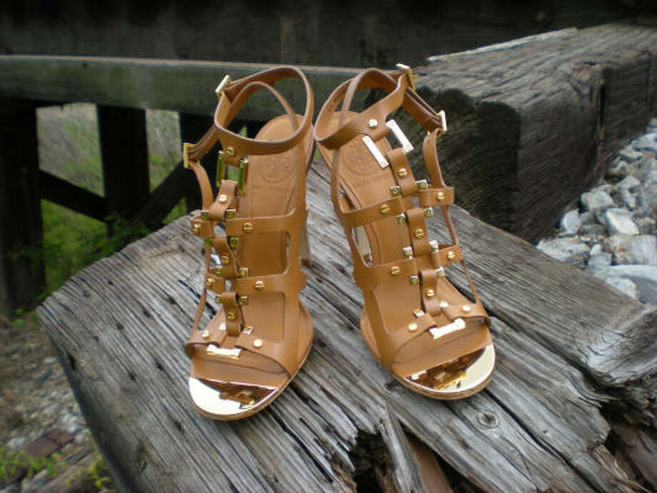 Tory Burch's Francesca gladiator sandals, $425, Nordstrom Photo: T.G. DeHekker
