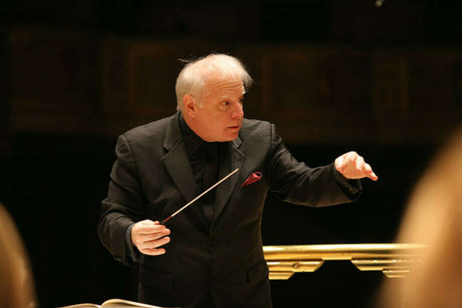 Leonard Slatkin, music director of the Detroit Symphony Orchestra, will conduct the Houston Symphony for three concerts. Photo: Courtesy Photo