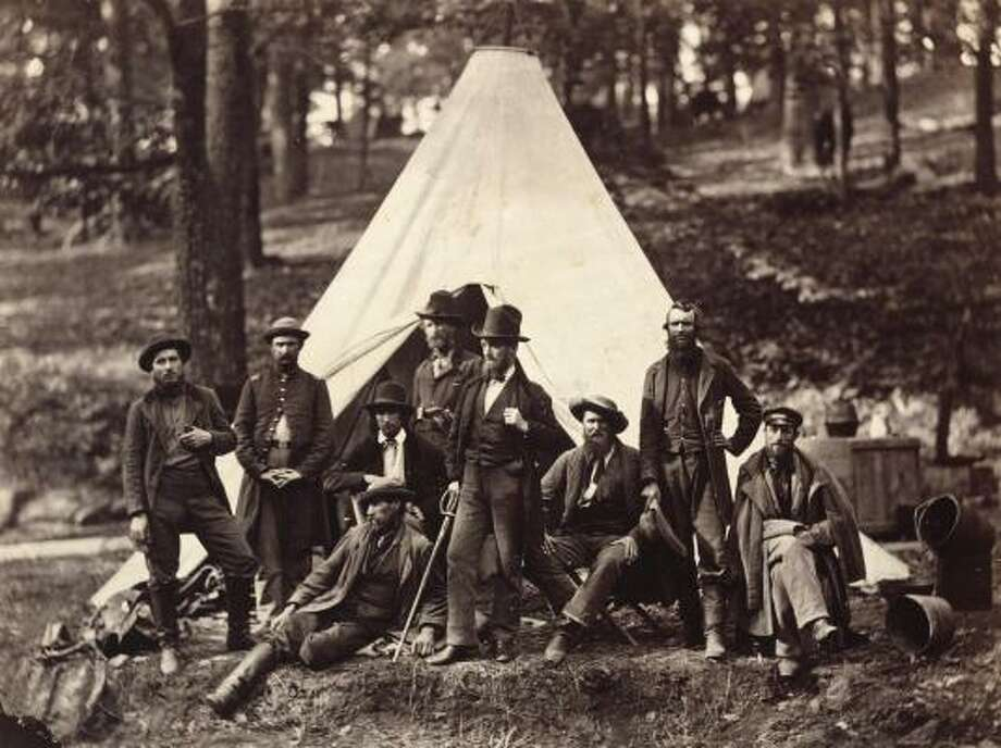 A 2008 recipient of the MFAH's Joan and Stanford Alexander Award studied the artistic output of Civil War photographer Alexander Gardner, whose Group of Guides for the Army of the Potomac (1862) is owned by the museum. Photo: MFAH