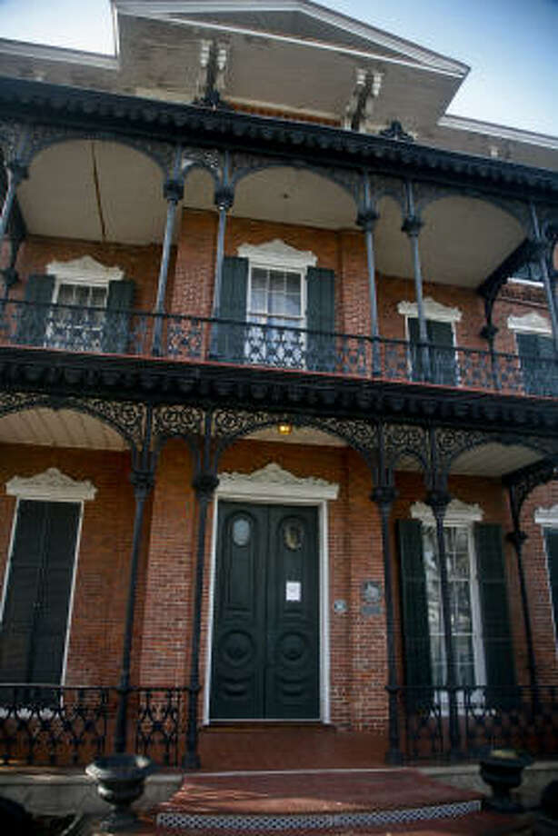 "Ashton Villa is offering a ""Restoration in Progress"" tour. Photo: Michael Paulsen, Chronicle"
