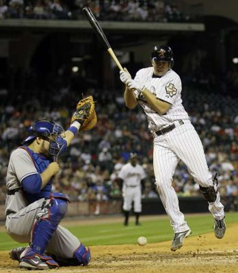 Houston Astros' Jeff Keppinger was kept out of the lineup Saturday because of injury. Photo: David J. Phillip, AP
