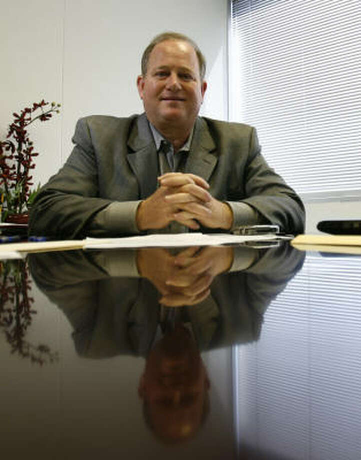 Attorney Mark Goldberg soon will embark on a mission to Iraq for a year with RTI International to advise residents on how to set up and operate local governments. Photo: Karen Warren, Chronicle
